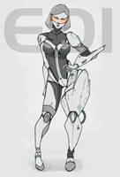 EDI heavy armored N7 by AmeDvleec