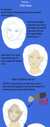 How to...color faces by AmeDvleec
