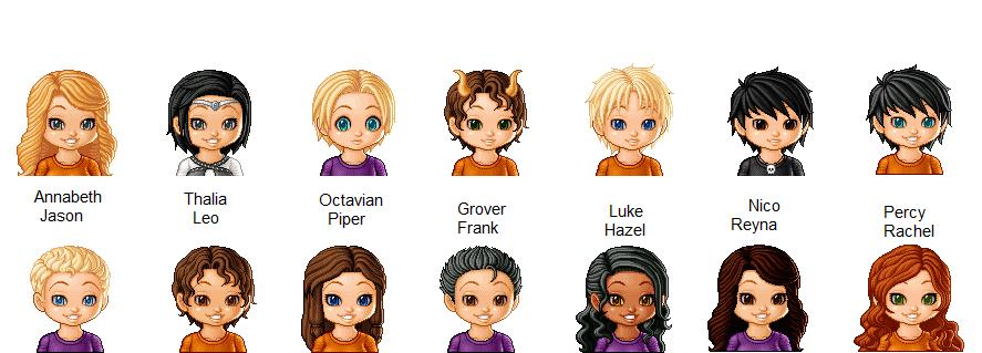 Characters From Percy ...