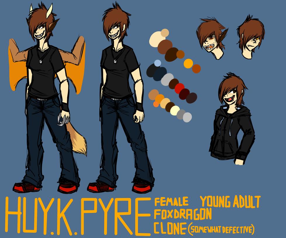 Huy. K. Pyre by Huytemen