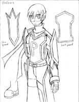 Loser Suit V2 reference sketch by blackdeath2000
