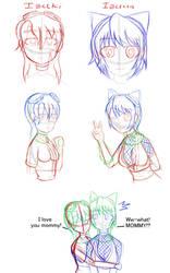 Izuki doodles1 by blackdeath2000