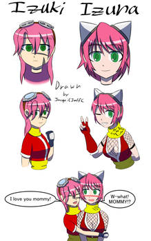 Izuki doodles1 color
