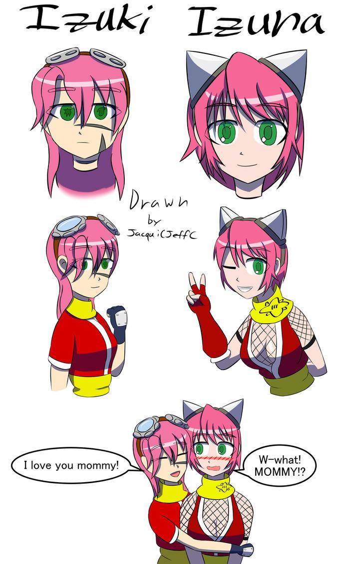 Izuki doodles1 color by blackdeath2000