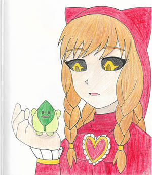 Nyarlathopt and leaf healer colorpencil