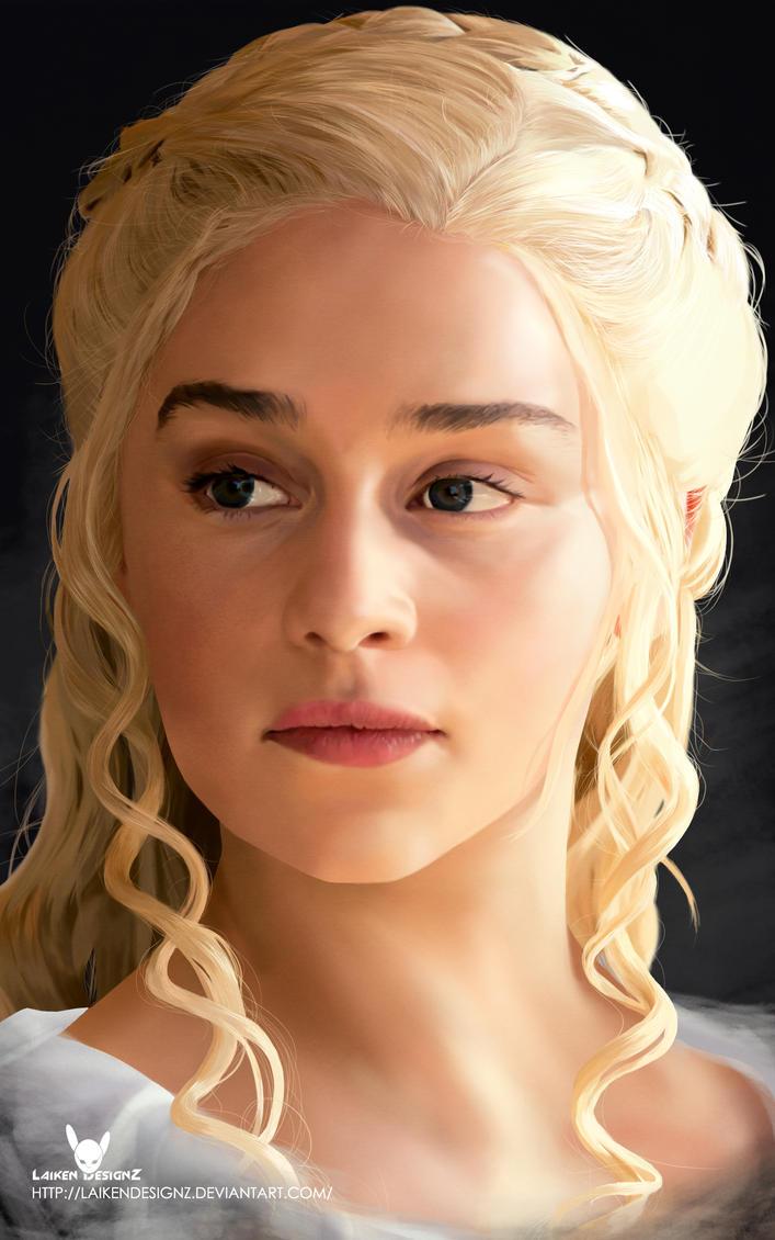 Daenerys Targaryen by LaikenDesignz