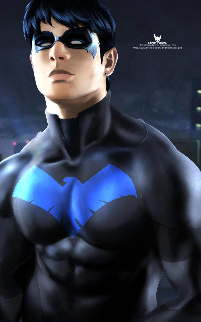 Young Justice  Nightwing by LaikenDesignz