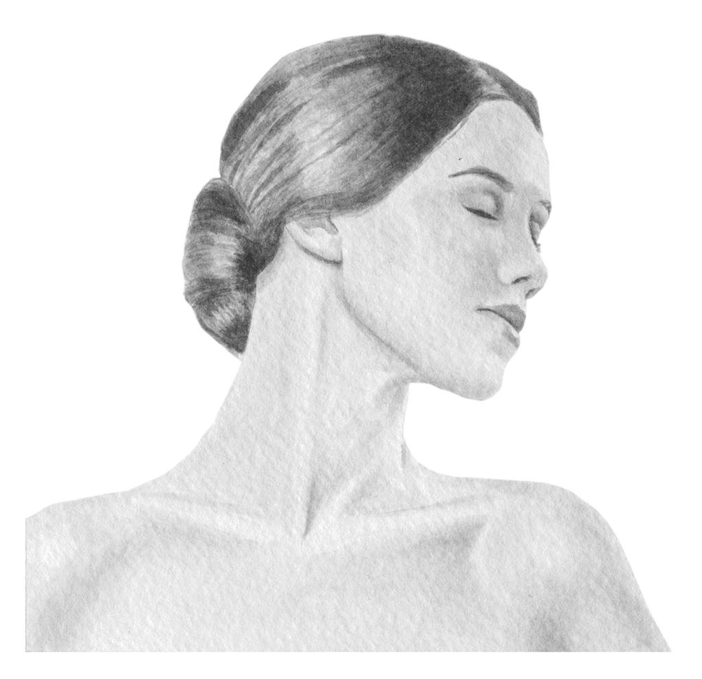 Neckline Drawing : Neck drawing by twe lve on deviantart