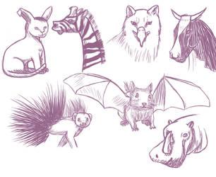 Animal fusion by AlexAislinn