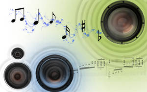 Speaker wave by CypherVisor