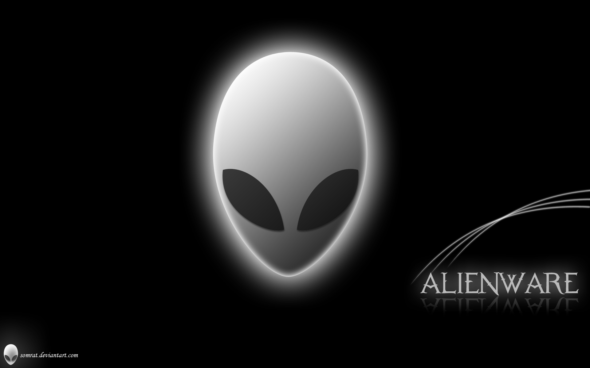 Alien Head wallpaper - 593793