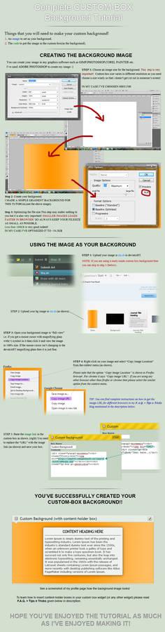 Custom-box Background Tutorial