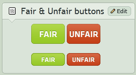 Fair Unfair buttons by CypherVisor