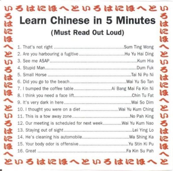 Learn Chinese In 1min by =CypherVisor