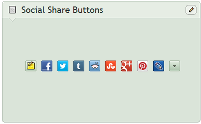 Social Share Buttons by CypherVisor
