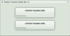 Shadow Content-holder box v2