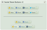 Social Share Button v2