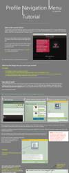 Profile Navigation Menu tutorial by CypherVisor