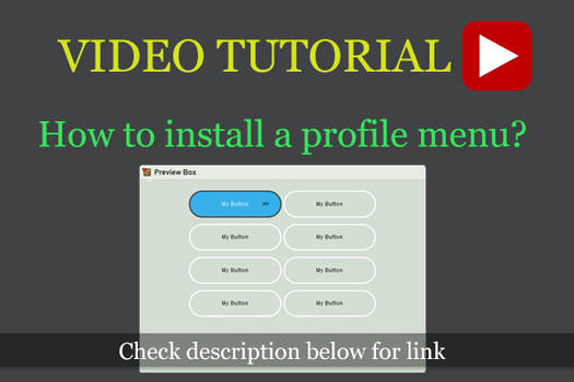 How to install Profile Menu
