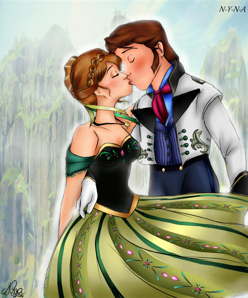 Anna and Hans KISS- by NYNA by N-Y-N-A