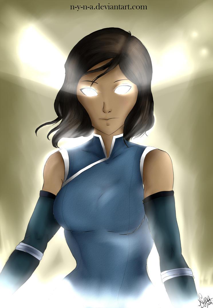 Korra Avatar state (book4)byNYNA by N-Y-N-A
