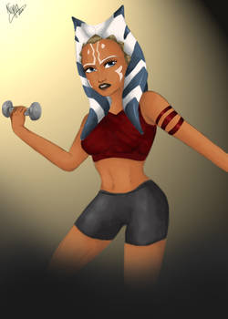 Sporty Ahsoka Tano by Nyna