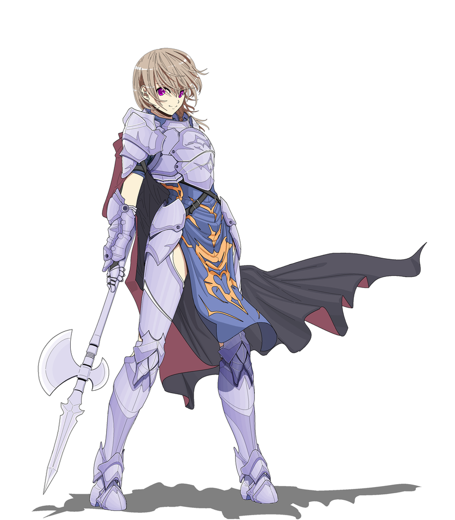 Anime Characters Knights : Female spear knight by thuong on deviantart