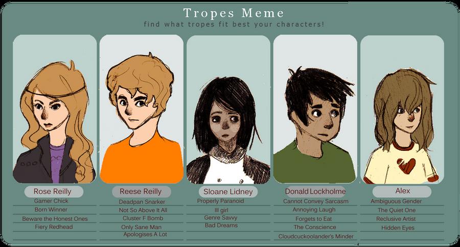 Character Trope Meme