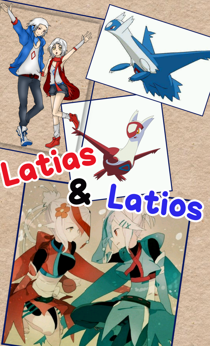 Latias and Latios by sakura1920
