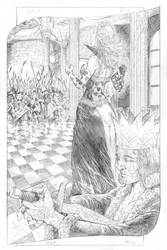 Queen of hearts vs mad hatter-