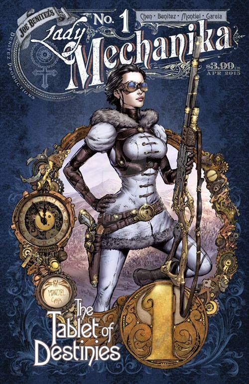 Lady Mechanika Tablets Of Destiny iss1 cvr by MMontiel