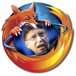 Fox bites Bill Gates by spinello
