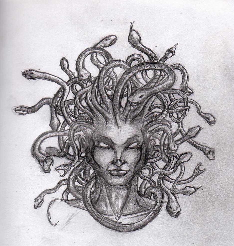 Medusa Artwork Tattoo: Medusa Art, Medusa Drawing And Greek