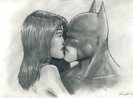 Batman and Wonder Woman by JustTheCleric