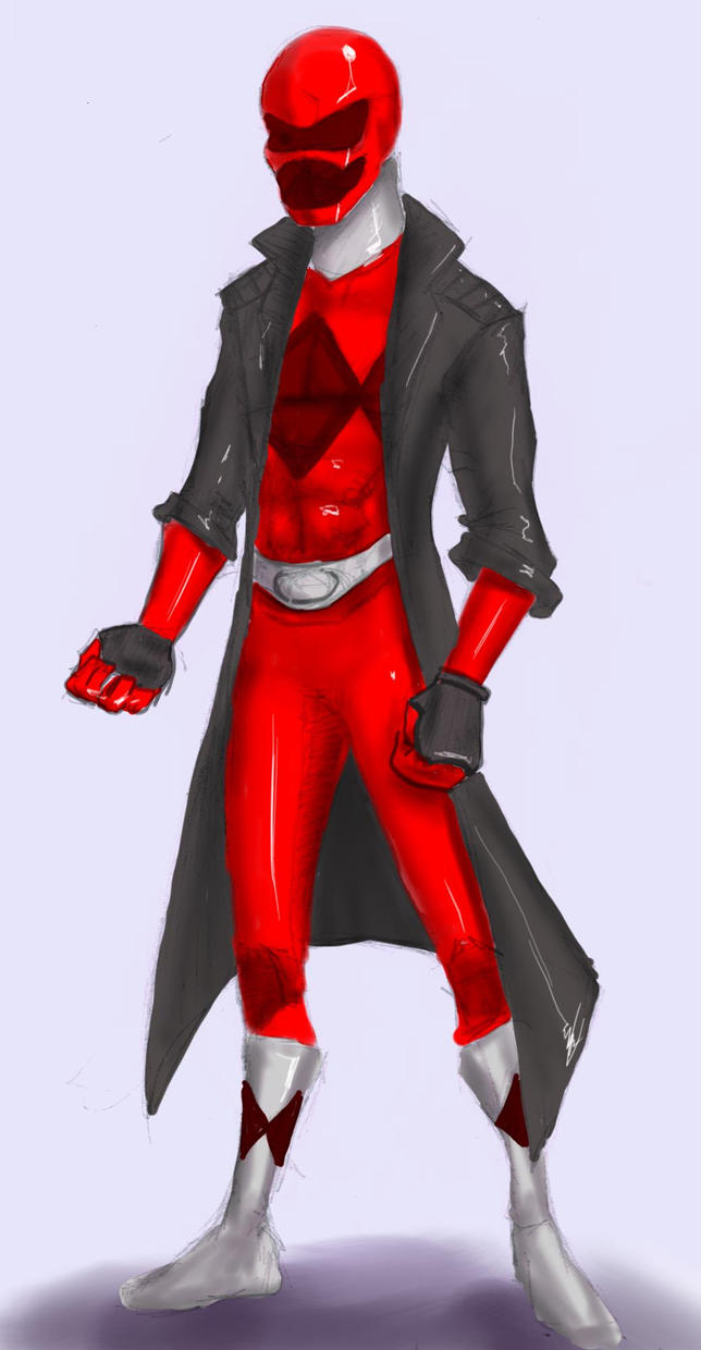 Red Ranger Concept by JustTheCleric