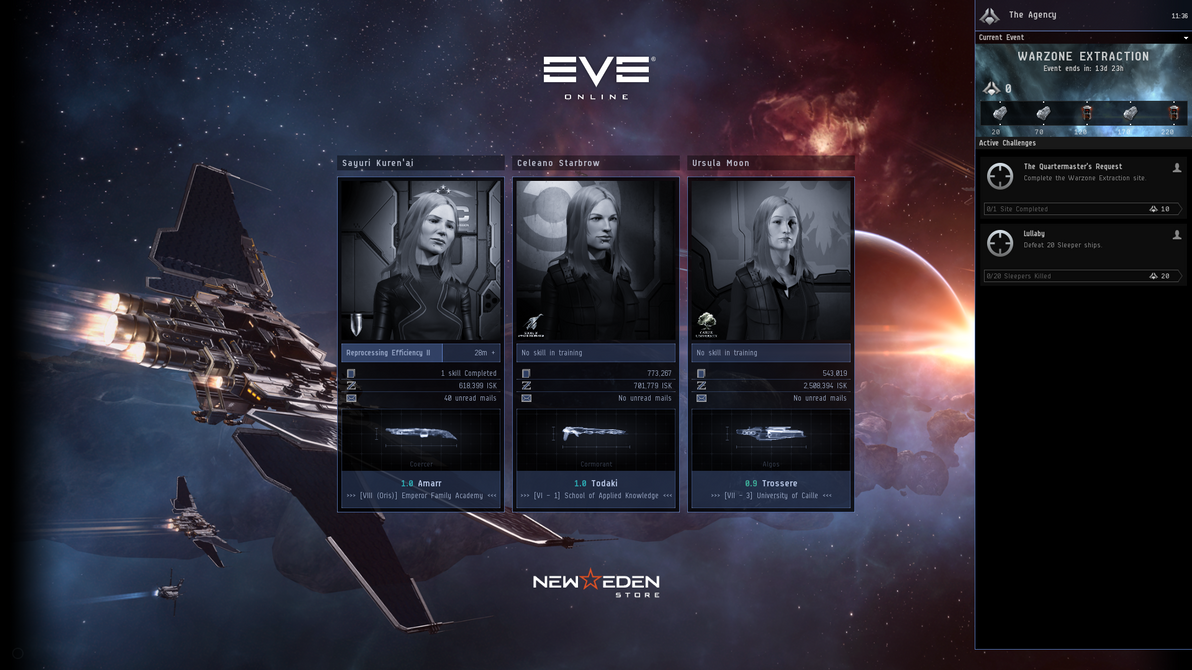 Eve Online by friecco