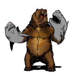Bearshark WIP by ducca