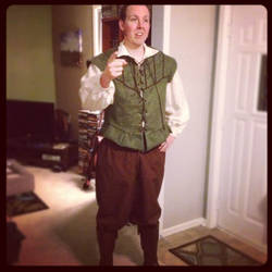 Renaissance Man Costume by Ceeyena