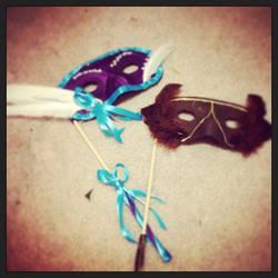 Masquerade Masks by Ceeyena