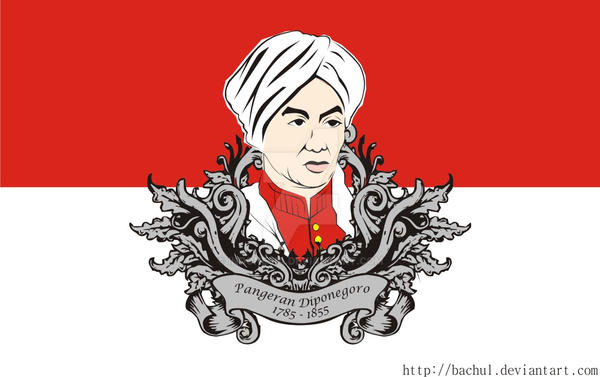 Prince Diponegoro by indonesia