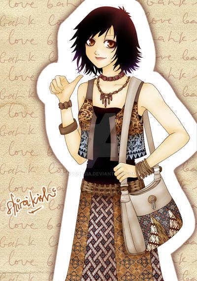 I love Indonesian batik by indonesia