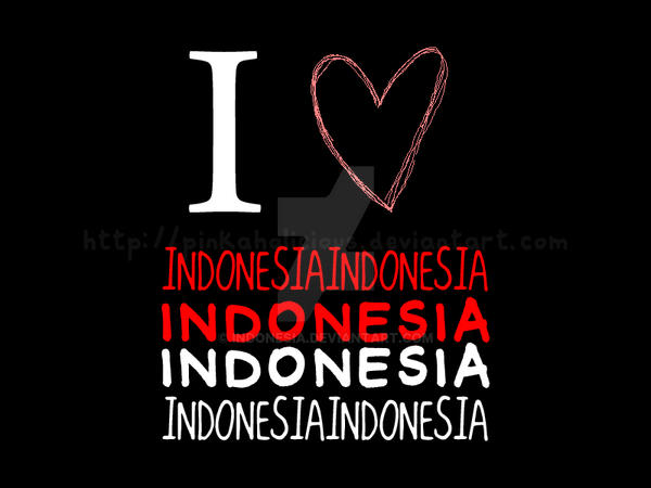 I love Indonesia by indonesia
