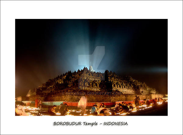 -Borobudur Temple- by indonesia
