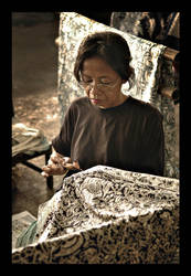 Batik Artist by indonesia