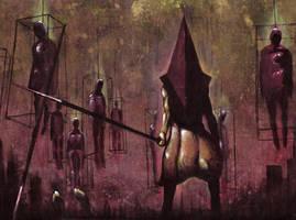 -Pyramid Head III- by DeadCamper