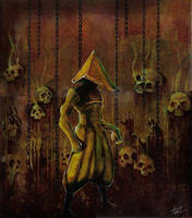 -Pyramid Head II- by DeadCamper