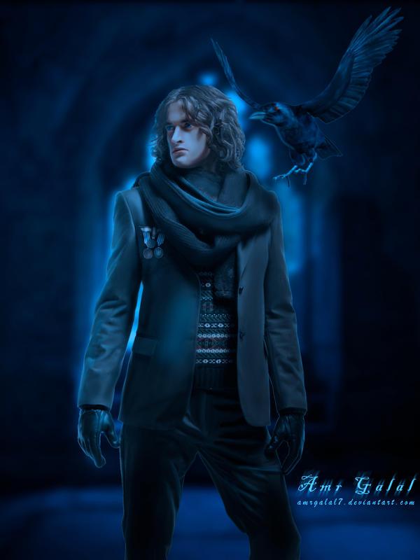 Dark Guardian - Crow Master by amrgalal7