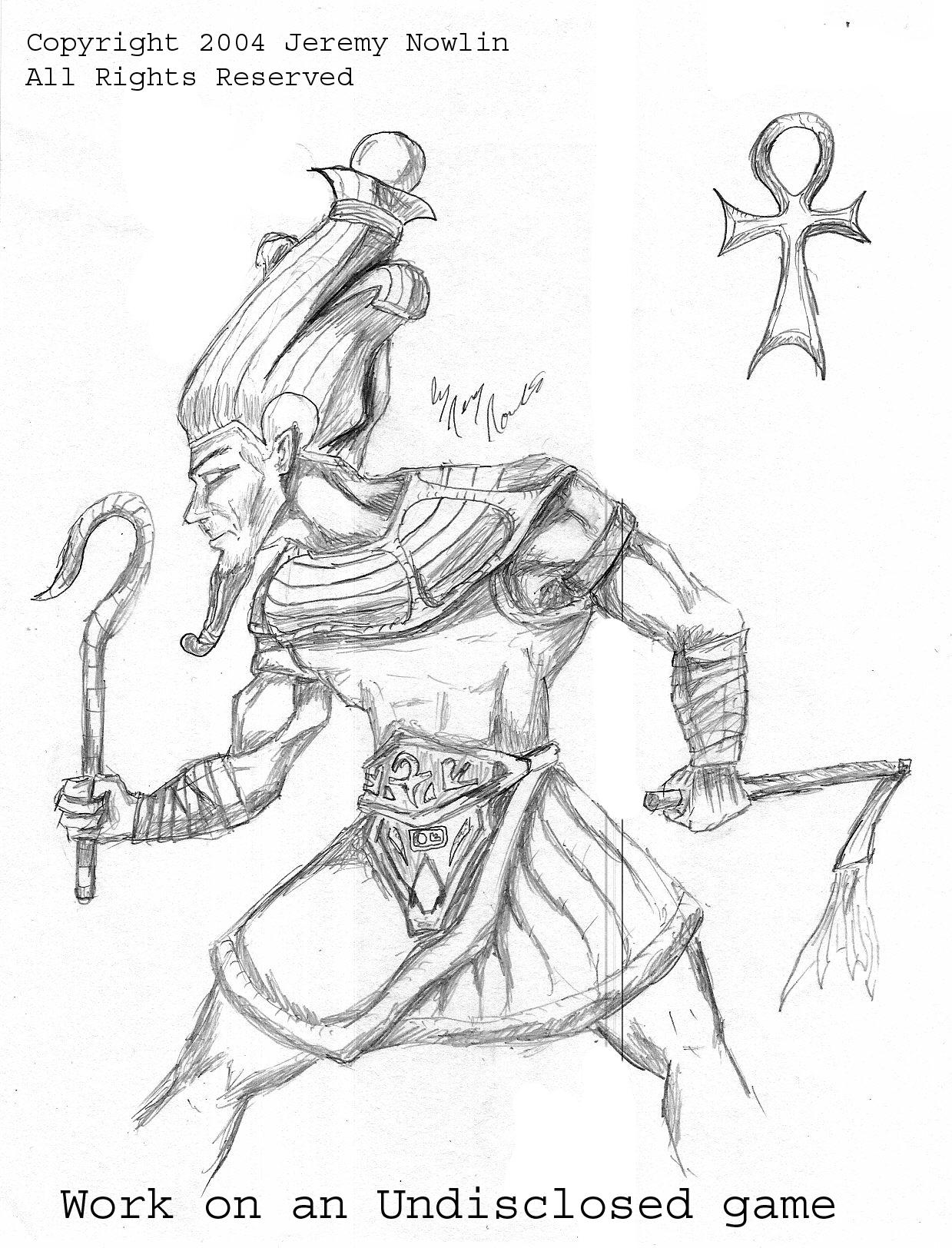 Egyptian God Osiris by JerryN on DeviantArt