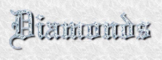 Diamonds! by elvenphilosophy