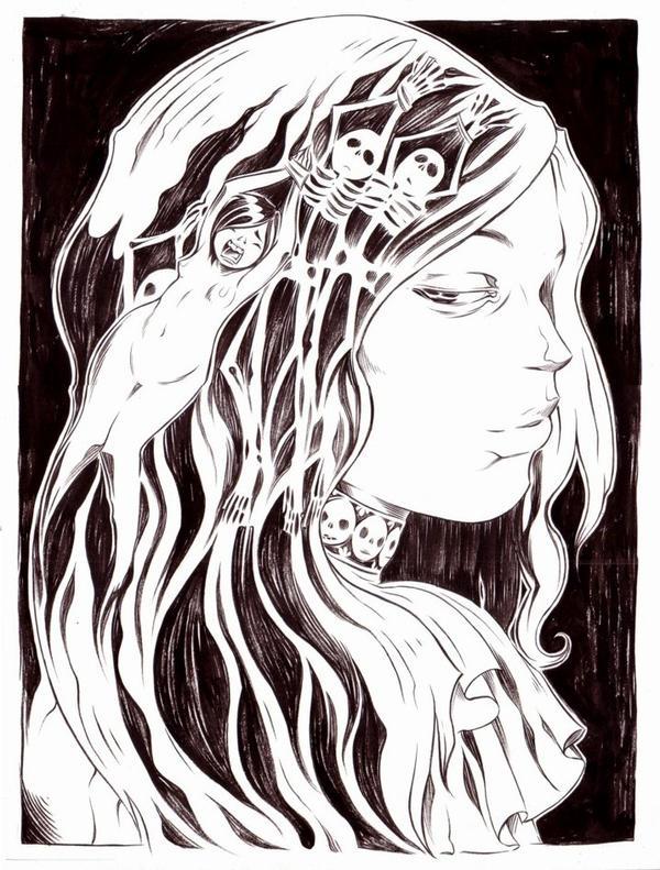 Lady Doubt by moosekleenex